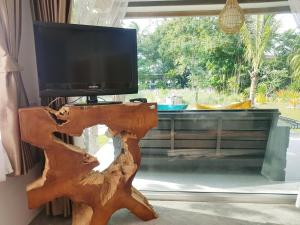 A television and/or entertainment center at In Touch Resort