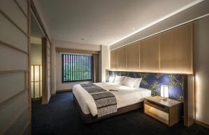 Noku Kyotoにあるベッド