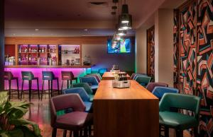 The lounge or bar area at Mercure Hotel Berlin City West