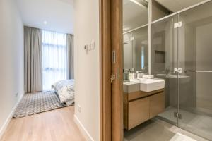 A bathroom at DHH - Welcome To Your New Home With Splendid Interiors in City Walk Building 11B