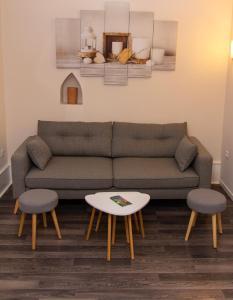 Zona de estar de L'ambassadeur - Colmar centre