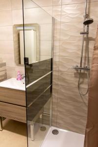 Ein Badezimmer in der Unterkunft L'ambassadeur - Colmar centre