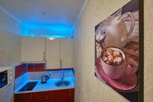 Ванная комната в Apartments Na Babushkina 82