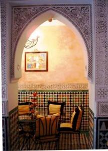 A seating area at Nadir Home