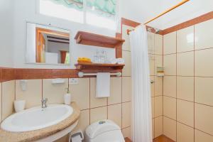 A bathroom at Casa de Mathias