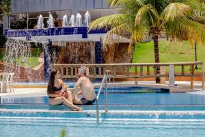 The swimming pool at or near Ecologic Ville Resort