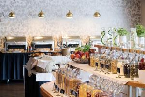 En restaurang eller annat matställe på First Hotel Grand Falun