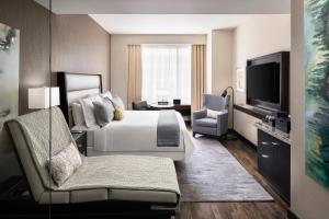 A television and/or entertainment center at JW Marriott Houston Downtown
