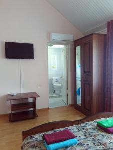 Телевизор и/или развлекательный центр в Guest House Bereg Morya