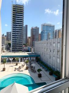 A view of the pool at Oasis Atlantico Imperial or nearby