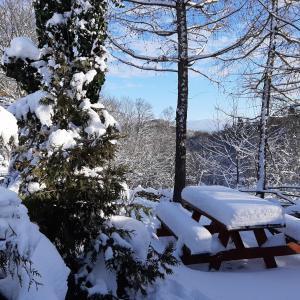 Obiekt PEGAZOWA WOLA CISNA zimą