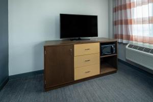 A television and/or entertainment center at La Quinta by Wyndham LAX