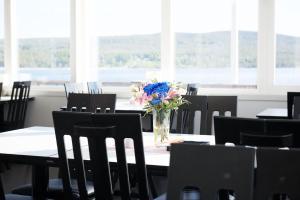 En restaurang eller annat matställe på Kajkanten Restaurang B&B