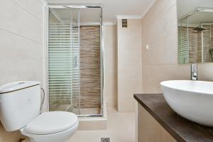 Koupelna v ubytování The Athens City Getaway