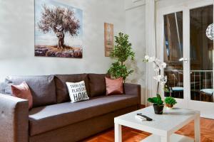 Posezení v ubytování The Athens City Getaway