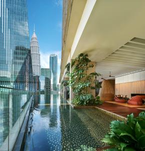 The swimming pool at or near The RuMa Hotel and Residences