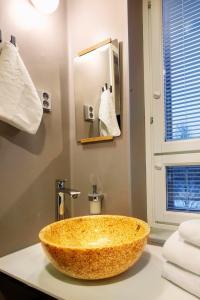 Ein Badezimmer in der Unterkunft Lietsu Boutique Aparthotel - Huoneistohotelli Lietsu