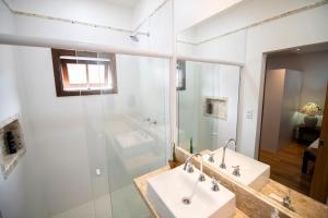 A bathroom at Casa Julia