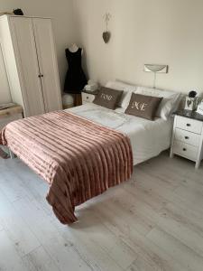 Posteľ alebo postele v izbe v ubytovaní Country house
