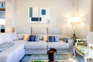 Zona de estar de Genteel Home Maestranza