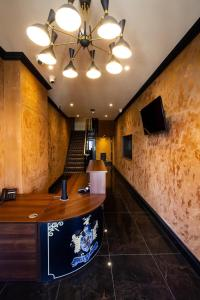 The lobby or reception area at The Hadley Hotel