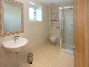 A bathroom at Jeanneau