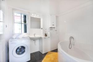 Ein Badezimmer in der Unterkunft Ostrovní Apartment