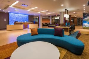 The lobby or reception area at Fairfield Inn & Suites by Marriott Moses Lake