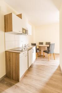Küche/Küchenzeile in der Unterkunft Boardinghaus Modern Living