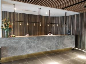 The lobby or reception area at Adelaide Rockford