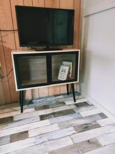 A television and/or entertainment center at Oval Motel - Murray Bridge