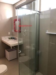 Um banheiro em Villa Simone