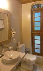 A bathroom at Urban Bliss Studio