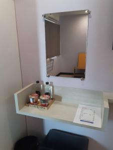 A kitchen or kitchenette at Room@Vipa