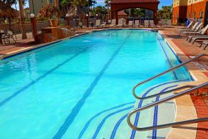 The swimming pool at or near Holiday Inn Express Hotel and Suites South Padre Island