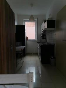 Küche/Küchenzeile in der Unterkunft Zimmervermietung Aras