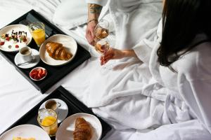 Завтрак для гостей WineWood Moscow