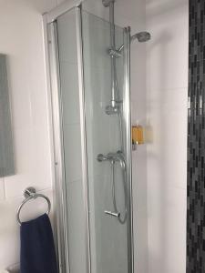 A bathroom at Tregonholme Hotel