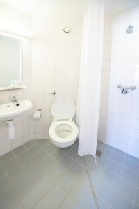 A bathroom at Lancaster University