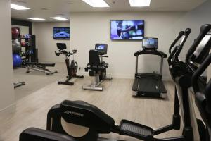 The fitness center and/or fitness facilities at Embassy Suites Los Angeles - International Airport South