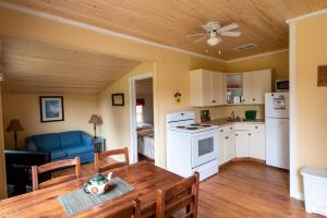 A kitchen or kitchenette at Jake & Jo's Cottages
