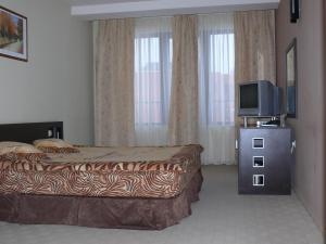 Postelja oz. postelje v sobi nastanitve Hotel Brilliantin