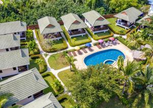A bird's-eye view of Phatcharee Resort