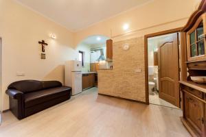 A seating area at Apartament Confort Calea Turzii