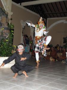 Children staying at Baliku Dive Resort