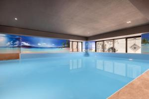 The swimming pool at or near Wyndham Grand Tbilisi