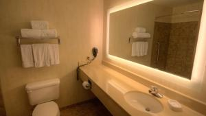 A bathroom at Holiday Inn Express & Suites Sioux Center