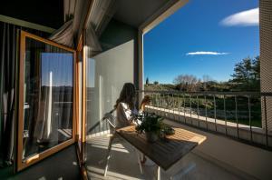 A balcony or terrace at Hotel Salona Palace