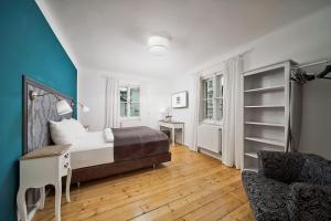 Ein Sitzbereich in der Unterkunft Salzburg Residence by Welcome-to-Salzburg