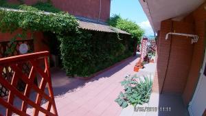 A balcony or terrace at Zhemchuzhina Guest House